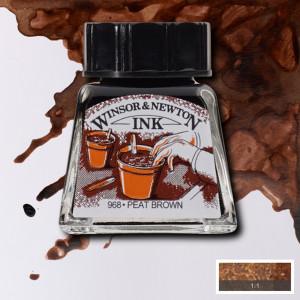 Tinta para Desenho Winsor & Newton 14ml Peat Brown 469