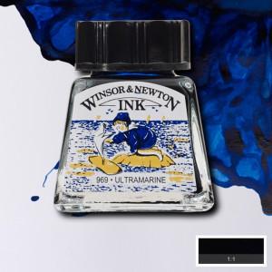 Tinta para Desenho Winsor & Newton 14ml Ultramarine 660