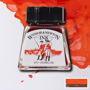 Tinta para Desenho Winsor & Newton 14ml Vermilion 680
