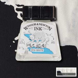 Tinta para Desenho Winsor & Newton 14ml White 702