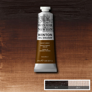 Tinta Óleo Winton 37ml 076 Burnt Umber