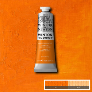 Tinta Óleo Winton 37ml 090 Cadmium Orange Hue