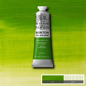 Tinta Óleo Winton 37ml Winsor & Newton 145 Chrome Green Hue
