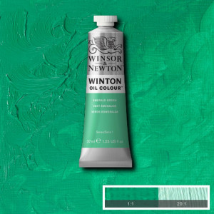 Tinta Óleo Winton 37ml Winsor & Newton 241 Emerald Green