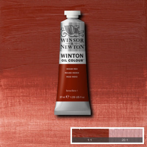 Tinta Óleo Winton 37ml 317 Indian Red