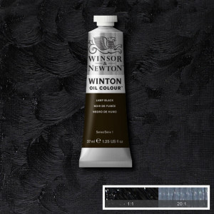 Tinta Óleo Winton 37ml 337 Lamp Black