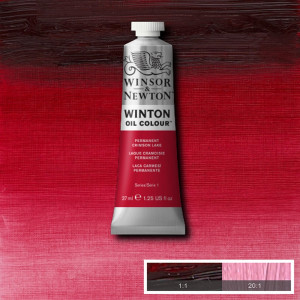Tinta Óleo Winton 37ml 478 Permanent Crimson Lake