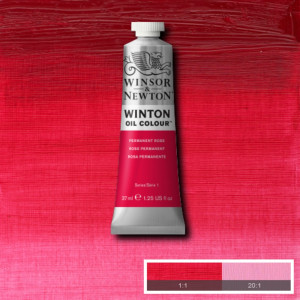 Tinta Óleo Winton 37ml 502 Permanent Rose