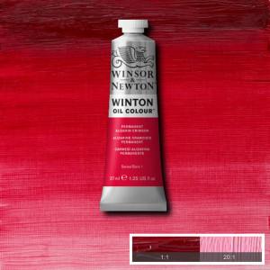 Tinta Óleo Winton 37ml Winsor & Newton 468 Alizarin Crimson