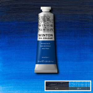 Tinta Óleo Winton 37ml 516 Phthalo Blue
