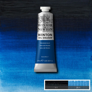 Tinta Óleo Winton 37ml 538 Prussian Blue
