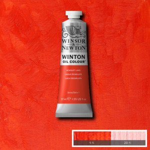 Tinta Óleo Winton 37ml 603 Scarlet Lake