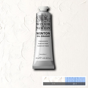 Tinta Óleo Winton 37ml 644 Titanium White