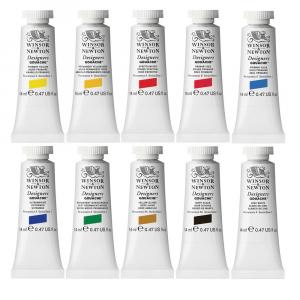 Tinta Guache Winsor & Newton Designers 10 Cores