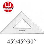 Esquadro Trident sem escala 45º 2528 28cm
