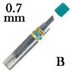 Mina Grafite Pentel 0.7mm B