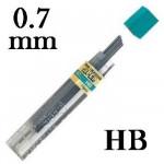Mina Grafite Pentel 0.7mm HB