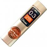 Mina Grafite Pentel AIN STEIN 0.3mm 2B