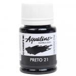 Aqualine Aquarela Líquida 21 Preto 37ml Corfix