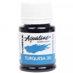 Aqualine Aquarela Líquida 30 Turquesa 37ml Corfix