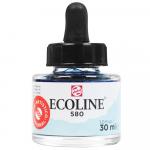 Aquarela Líquida Ecoline Talens 30ml 580 Pastel Blue