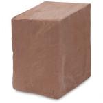 Argila Para Escultura e Artesanato Creme Profissional 10 Kg