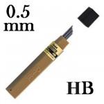 Mina Grafite Pentel 0.5mm HB