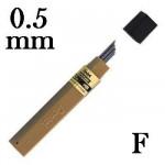 Mina Grafite Pentel 0.5mm F