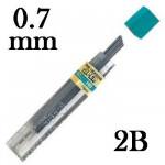 Mina Grafite Pentel 0.7mm 2B