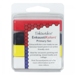 Kit Encáustica 4 Cores Primárias Enk4503 Enkaustikos