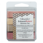 Kit Encáustica 4 Cores Cintilantes Enk5654 Enkaustikos
