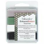 Kit Encáustica 4 Cores Tonais Enk4145 Enkaustikos