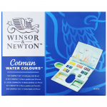 Tinta Aquarela Winsor & Newton Cotman Compact Set 14 Cores