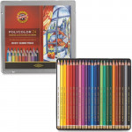 Lápis de Cor Polycolor 24 cores