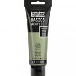 Tinta Acrílica Liquitex Basics 118ml 205 Green Grey