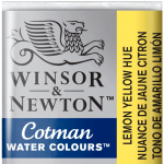 Tinta Aquarela Cotman W&N Pastilha 346 Lemon Yellow Hue