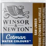 Tinta Aquarela Cotman W&N Pastilha 554 Raw Umber