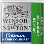 Tinta Aquarela Cotman W&N Pastilha 599 Sap Green