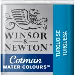 Tinta Aquarela Cotman W&N Pastilha 654 Turquoise