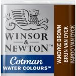 Tinta Aquarela Cotman W&N Pastilha 676 Vandyke Brown