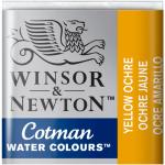 Tinta Aquarela Cotman W&N Pastilha 744 Yellow Ochre