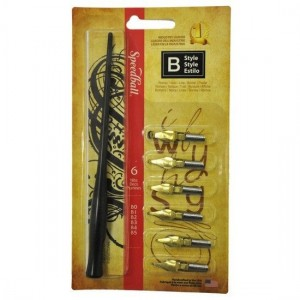Kit para Caligrafia Speedball B Style 2956