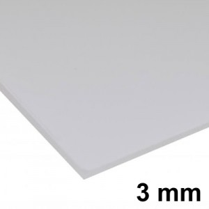 Placa Foam Board Branca 80x100cm - 3mm