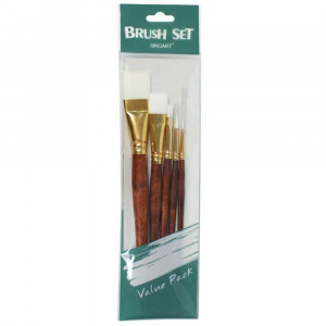 Set de Pincel para Pintura Artística Sinoart SFB0278 05 Unidades
