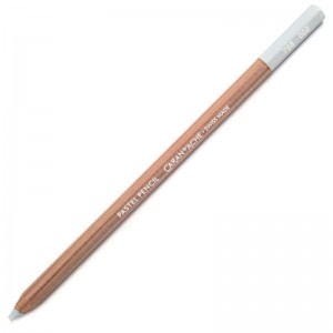 Lápis Pastel Caran D'Ache 002 Silver Grey