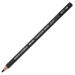 Lápis Aquarelado Caran D'Ache Museum 009 Black