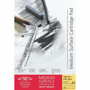 Bloco Papel Winsor & Newton Medium Surface 220g A5