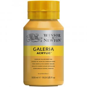 inta Acrílica Galeria Winsor & Newton 500ML 115 Cadmium Yellow Deep Hue