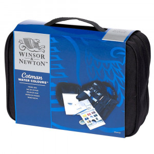 Conjunto Aquarela Winsor & Newton Cotman Travel Bag