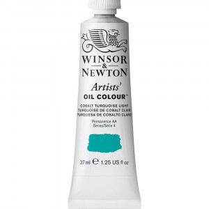 Tinta Óleo Artist 37ml Winsor & Newton S4 191 Cobalt Turquoise Light